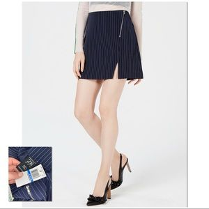 PROJECT 28 NYC |NWT| Navy Pinstriped Mini Skirt
